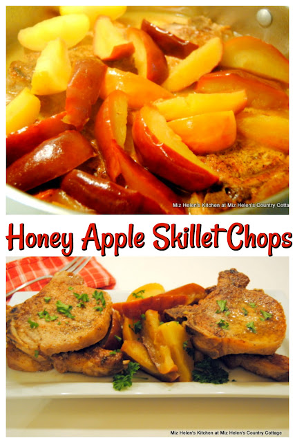 Honey Apple Skillet Chops at Miz Helen's Country Cottage