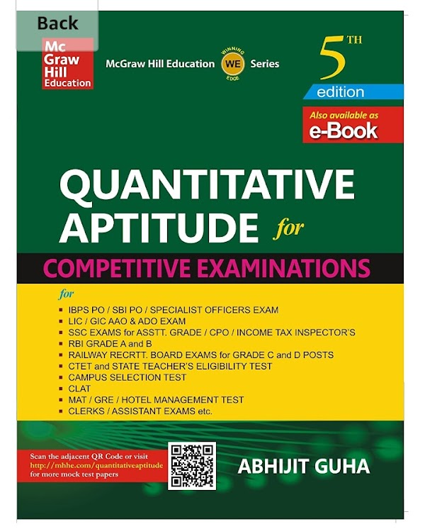 [PDF] Quantitative Aptitude for All Competitive Exam By Abhijit Guha free download