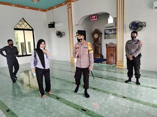 Syiar Ramadhan, Kapolres Enrekang Utamakan Prokes di Tempat Ibadah