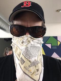 Jason Brock Music Pandemic Blues Wearing Mask Image