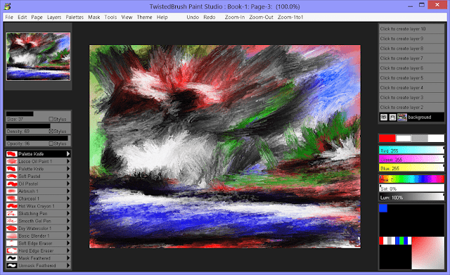 Screenshot Pixarra TwistedBrush Paint Studio 3.00 Full Version