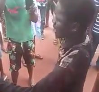 Oh My God!!  Calabar boy killed a girl and use it for pepper soup in Edo state (video)