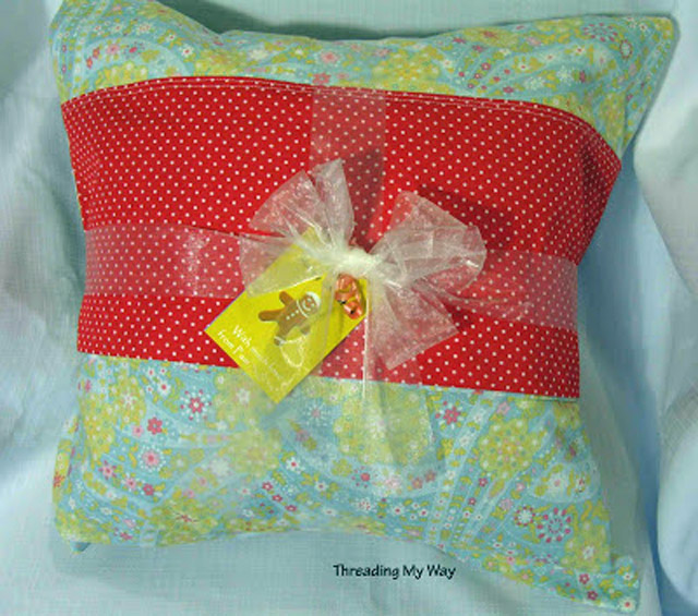 A present in a pillowcase ~ Threading My Way