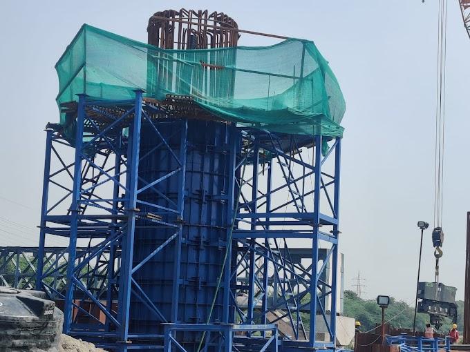 Afcons Infrastructure constructed first pier of Delhi-Meerut RRTS Corridor