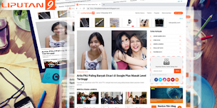 New Update XML Liputan9 Version 1.3 Blogger Template