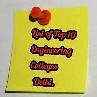 Top engineering colleges  Delhi