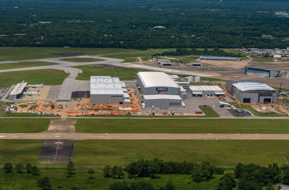 Airbus começa produção de aeronave A220 nos Estados Unidos | Foto © Herbert Monfre - É MAIS QUE VOAR