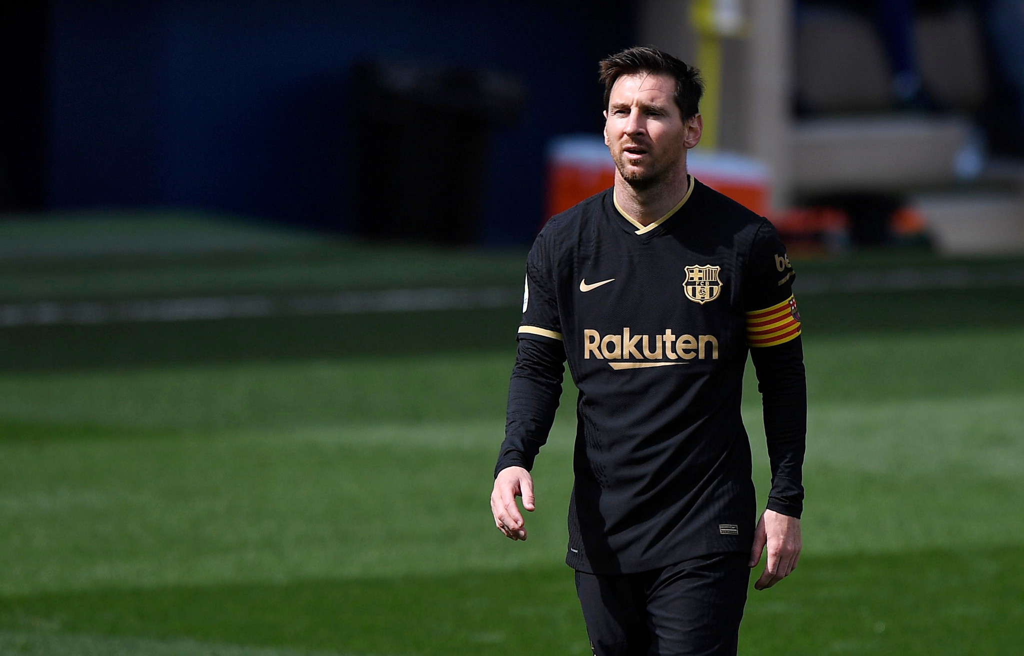 Lionel Messi's Barcelona next target the La Liga title after clinching the Copa Del Rey last weekend