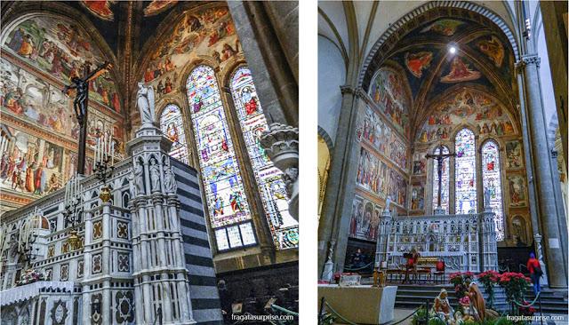Altar-mor da basílica de Santa Maria Novella, em Florença