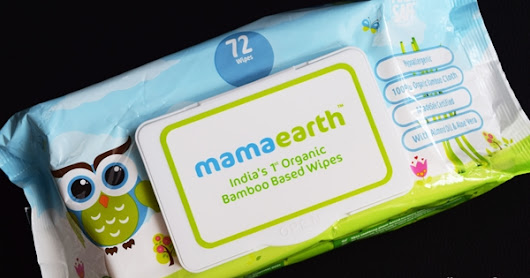 Mamaearth Bamboo based Baby Wipes Review