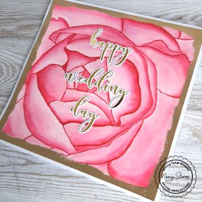 Rachel Vass Designs - In Love Rose
