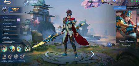 Hero Zilong Revamp