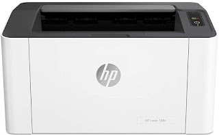 HP Laserjet 108A Monochrome Laser Printer with USB Connectivity, Compact Design, Fast Printing POS Guru for Laser Barcode Label and Bill Printing