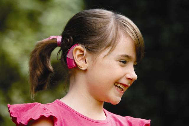 Artificial or bionic ear - cochlear implants developed for patients with severe hearing loss or total hearing loss are used.
