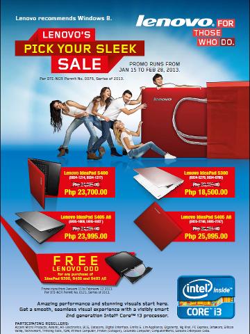 bdcc6041b0c6 Manila Shopper  Lenovo IdeaPad SALE   Mobile Price Drop  Jan-Feb 2013
