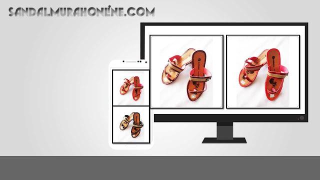 Sandal Garnis Wanita Murah Meriah Online