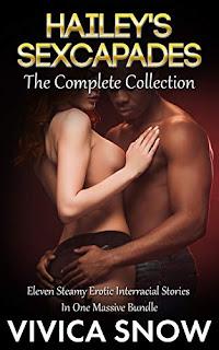 Hailey's Sexcapades: The Complete Collection - An interracial erotica bundle book promotion sites Vivica Snow