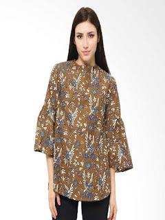 baju batik wanita modern untuk kerja