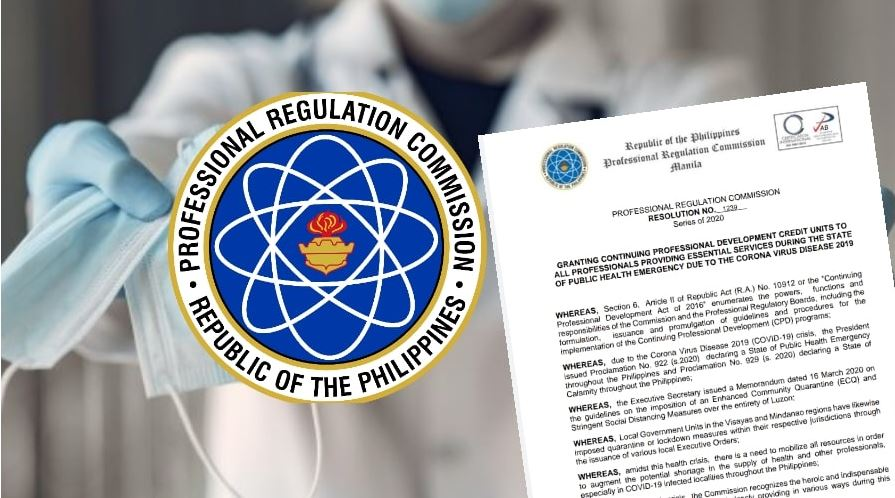 PRC grants CPD units to frontliners amid COVID-19 pandemic