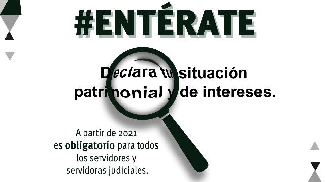 Fomenta Poder Judicial de Yucatán cumplimiento de declaración patrimonial