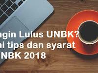 Ingin Lulus UNBK? Ini tips dan syarat UNBK 2018