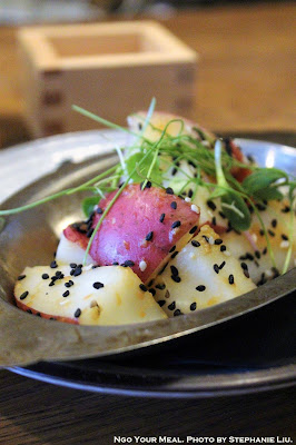 Miso-Goma Red Skin Potato at Rabbit House in New York City