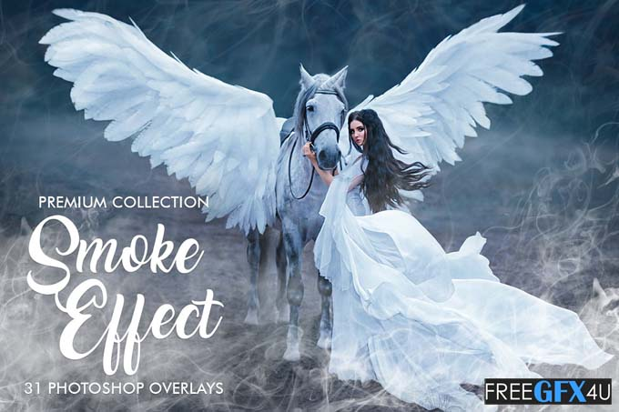 Smoke Effect Photoshop Overlays