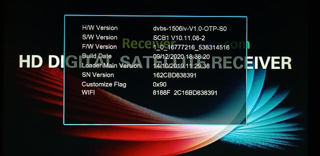 ECHOLENK E-I7000 PLUS 1506LV 1G 8M BUILT IN WIFI NEW SOFTWARE 9 DECEMBER 2020