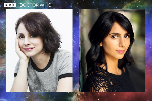 Laura Fraser and Anjli Mohindra