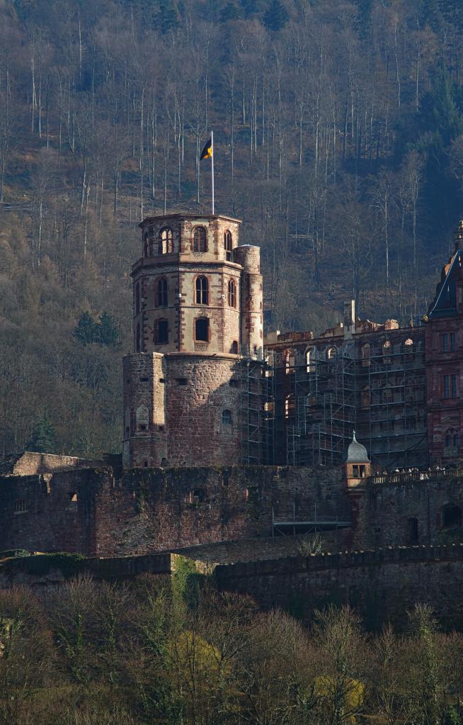 #083 Jupiter-11  f4 135mm M39 - Teil vom Heidelberger Schloss