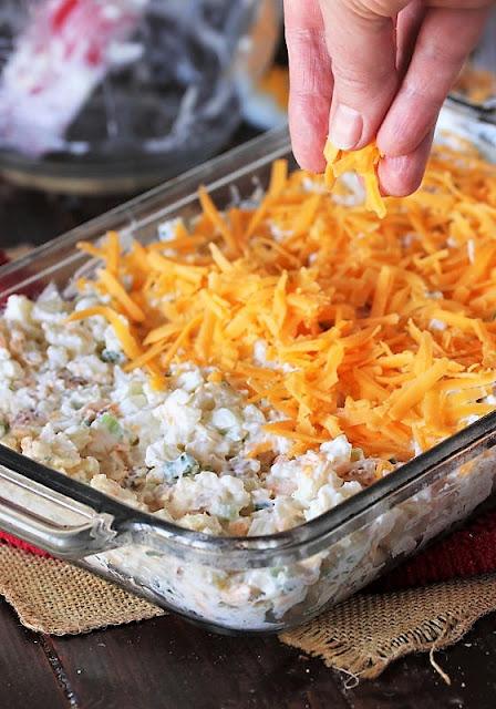 How to Make Cauliflower {Just Like} Loaded Baked Potato Casserole Image