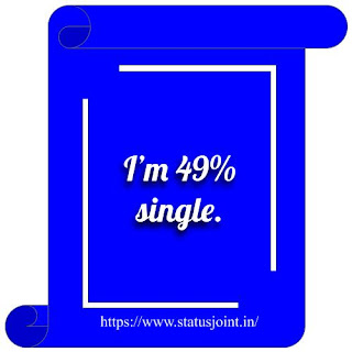 Single Status In English