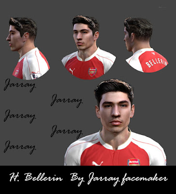 H. Bellerin By Jarray Facemaker