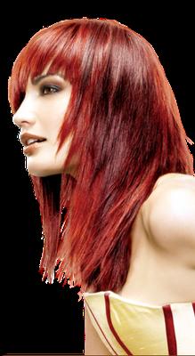 Explicación peinados png Colección De Cortes De Pelo Tendencias - Peinados Casuales y Modernos: Tendencias de Cabello Rojo ...