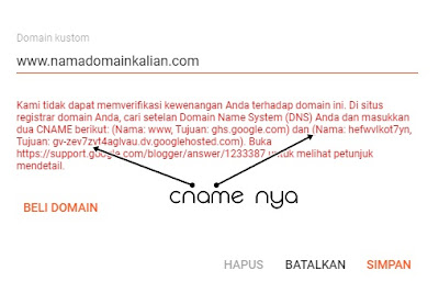Mengintegrasikan Custom Domain Blogger Dengan Cloudflare