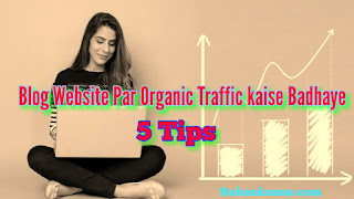Blog Website Par Organic Traffic Kaise Badhaye