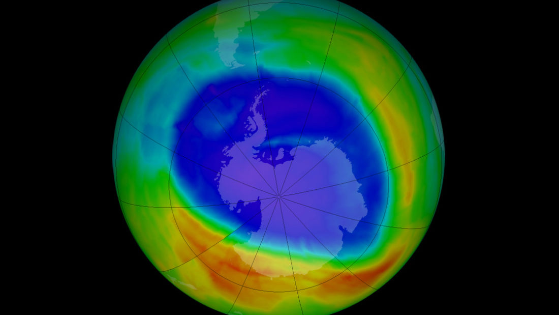 an analysis of the ozone layer above the earth Report: telltale signs that ozone layer is recovering noaa helps lead latest analysis of earth's protective miles above the earth the ozone layer acts as a.
