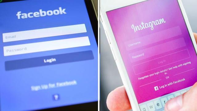 Facebook down - Instagram down