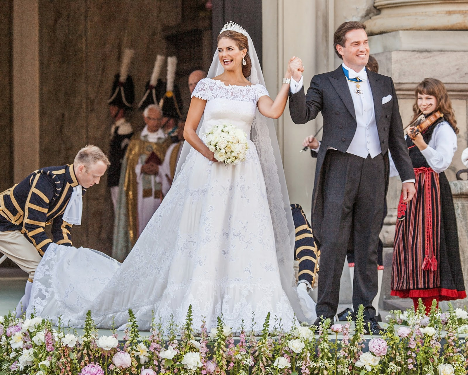 Royal Wedding Dresses Princess Madeleine Of Sweden