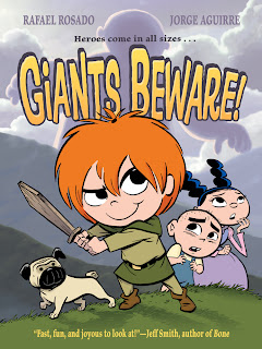 Giants Beware! front cover