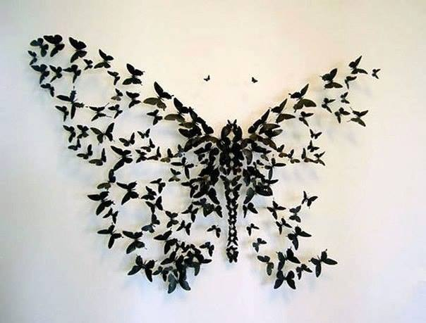 how to make paper butterflies for kids