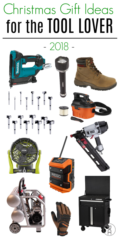 Holiday gift giving guide for the tool lover on your Christmas list
