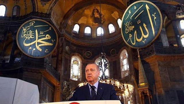 Turki Undang Pemimpin Dunia Shalat Jumat Perdana di Masjid Hagia Sophia