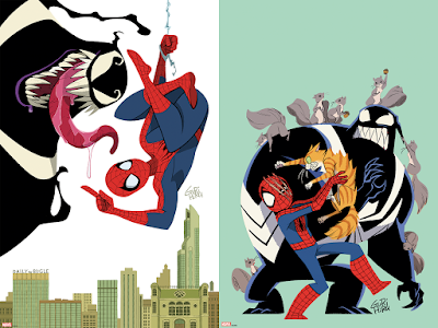 Spider-Man & Venom: Double Trouble Print Series by Gurihiru x Grey Matter Art x Marvel Comics