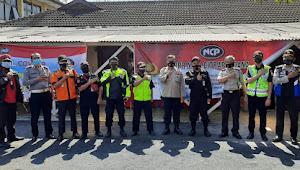Polsek Ujungberung Polrestabes Bandung Menjadi Tempat Pelaksanaan Gebyar Penyuntikan Ke-2 Vaksin Covid-19
