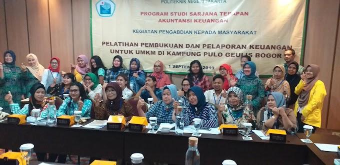 UMKM di Bogor Dapat Pelatihan Pembukuan dan Pembentukan Unit Usaha Simpan Pinjam
