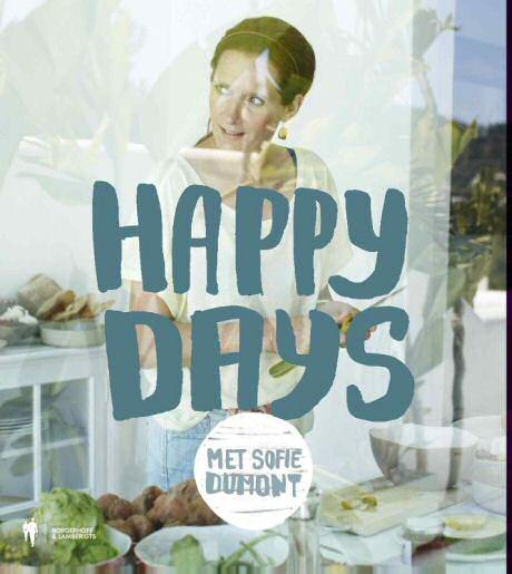 Happy Days met Sofie Dumont: minder verfijnde cover voor haar nieuwste kookboek