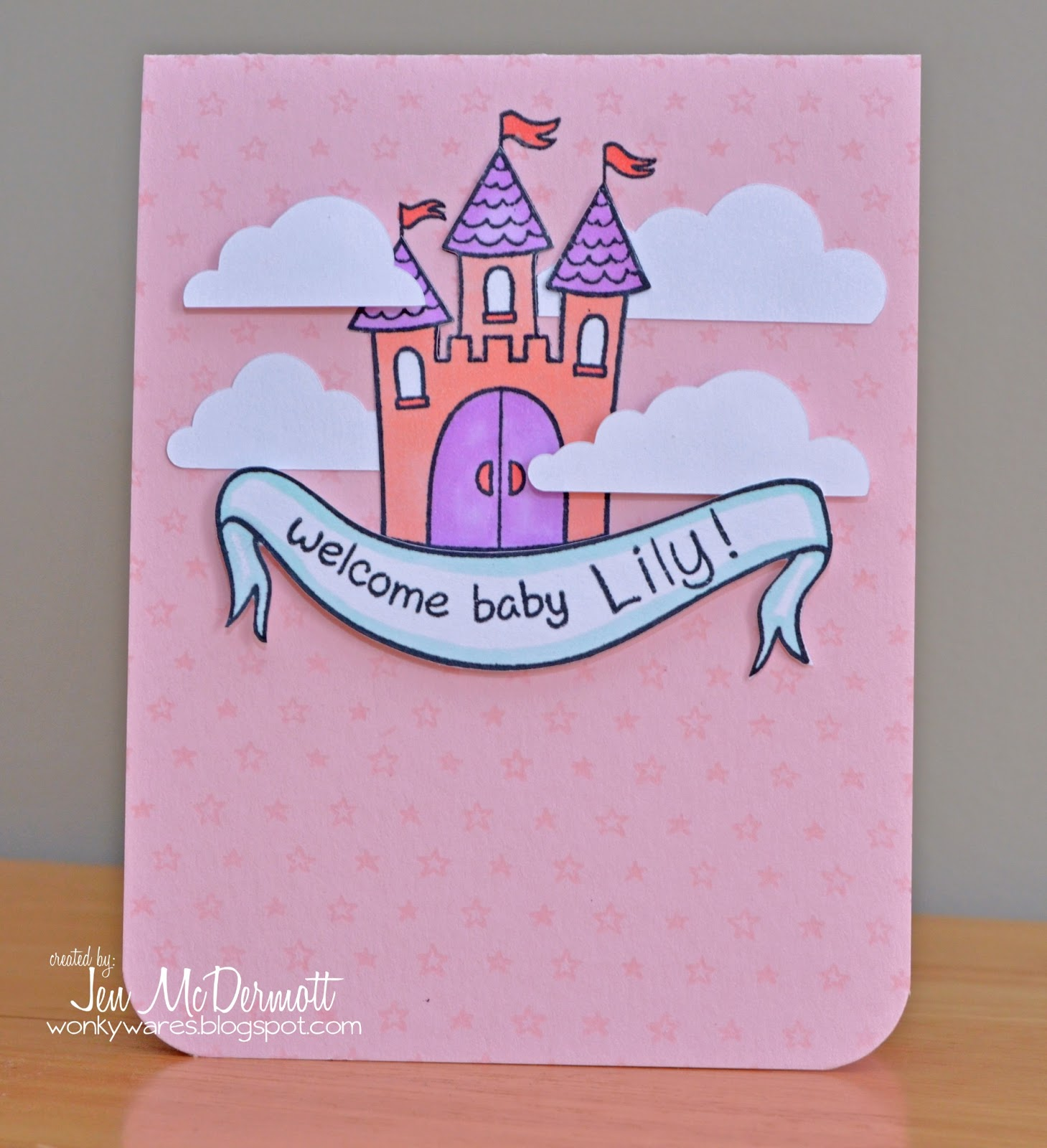 Wonky Wares By Jen Mcdermott Welcome Baby Lily