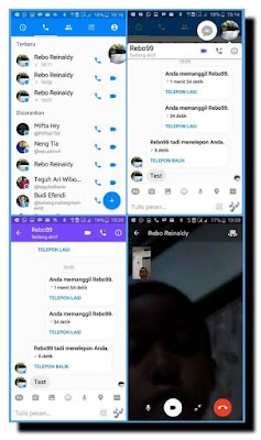FB Messenger Mod Original Versi Clone Video Call APK
