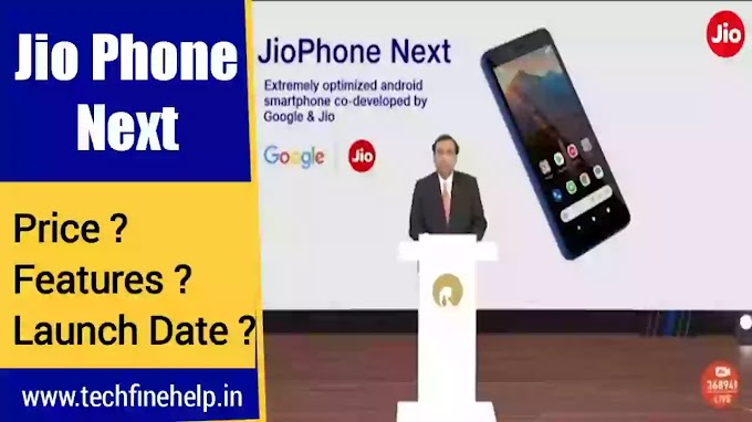 Jio phone Next Features and Price in India